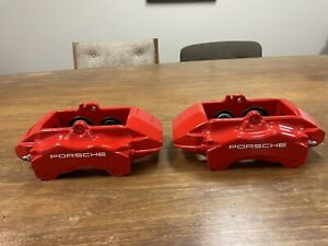 Porsche 996 Turbo C4S 997 Front Brake Calipers PROFESSIONALLY Refinished!