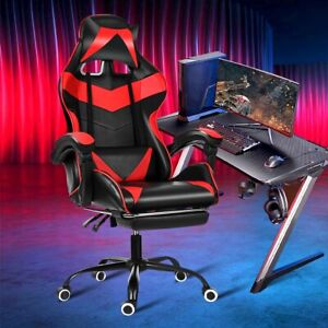 Leather Ergonomic Office Computer Gaming Chairs Home Internet Cafe Racing Chairs