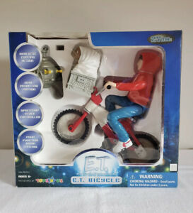 E.T. & Elliot Remote Control Bicycle Toy