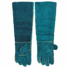 Anti Bite Safety Gloves Catch Dog Cat Reptile Animal Leather Pets Grasping Safe