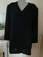LADIES x XROSS XROSS BLACK JACKET SIZE 18 --POLYESTER NICE & LIGHT  --PRE OWNED