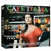 Cafe Italia - Various Artists (3CD)  [SAME DAY DISPATCH * NEW SEALED]