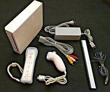 Complete Nintendo Wii System w/ Remote & Nunchuck (RVL-001, Gamecube Compatible)