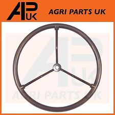 Ford New Holland N 2N 8N 9N Tractor Steering Wheel black Metal Spokes 2N3600