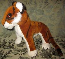 "Merrythought Tiger Plush England 12"" Stripe Cat Wild Animal Ironbridge"