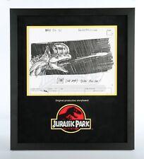 Jurassic Park Original Production Storyboard—Dilophosaurus Spits (JP10)