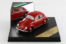 "VOLKSWAGEN Coccinelle Beetle ""Ovale"" - 1955 - 1/43ème - Coral Rot - Vitesse"