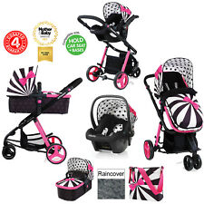 COSATTO GIGGLE 2 GO LIGHTLY 2 TRAVEL SYSTEM PUSHCHAIR CAR SEAT FROM BIRTH