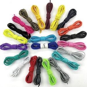 Elastische Schnürsenkel mit Schnellverschluss Kinder Sneaker Schuhbänder schwarz