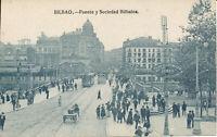 PC37223 Bilbao. Puente y Sociedad Bilbaina. B. Hopkins