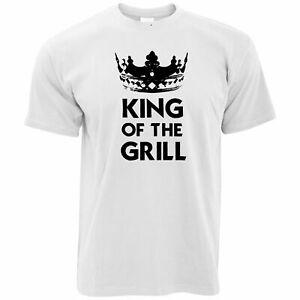 Cuisson nouveauté T-Shirt King Of The Grill Slogan