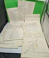 VIPER MAGAZINE 1978-1981 Huge Lot Rare Early Computer RCA VIP cosmac VTG Journal