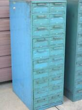 Steelcase 10 Double Drawer Tooling Parts Hardware File Storage Cabinet 55x19x29