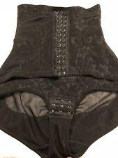 Shaper Queen Waist Cincher Body Shaper Trainer Girdle Black Size L Panty
