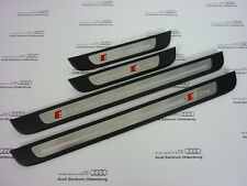 Audi A6 4g S-line Einstiegsleiste hinten links 4G0853373B