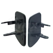 New Pair (2) BMW X5 E70 07-13 Headlight Washer Nozzles Covers Set Left + Right