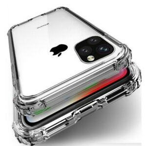 CLEAR CASE For iPhone 12 11 Pro Max Mini XS XR SE X 8 7 Protector Silicone Cover