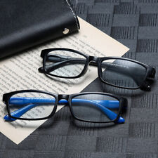 Rectangular Reading Glasses Retro Readers Anti Blue Light Block Magnetic Therapy