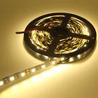 Noir PCB 5050 SMD RGB étanche LED bande Flexible Clair 60led/m bande lampe 12V