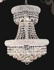 Speical Limited Edition 9 Light Fine Crystal Chandelier Light Chrome