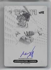 2013 Finest Rookie AUTO/BLACK PRINTING PLATE #AH Adeiny Hechavarria RC #d 1/1