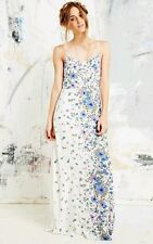 Wildflower Maxi Dress Urban Outfitters Kimchi Blue White Multicolor Size 6