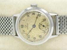 SCARCE AND ALL ORIGINAL OMEGA 32MM MENS STAINLESS STEEL 26.5 T3 MILITARY WATCH