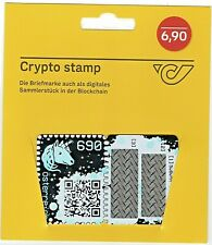 crypto stamp black from austria first blockchain