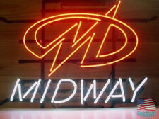 """Midway Arcade Game Room Neon Sign 20""""x16"""" From USA"""