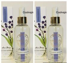 Bath & Body Works Acai Berry Face And Body Refresher X 2 Bottles