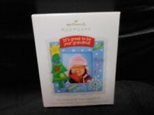 "Hallmark Keepsake ""It's Great To Your Grankid!"" 2010 Photo Holder Ornament New"