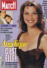 Couverture magazine,Coverage Paris Match 06/07/95 Cécile Bois