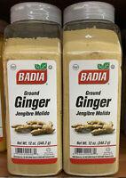 2 Pack  Badia Ginger ground 12 oz - Jengibre Molido