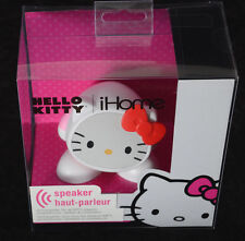HELLO KITTY Rechargeable Speaker iHome Tablets Smartphones MP3 Computers ~NEW~