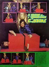 C.JERÔME et DOMINIQUE WEBB => Coupure de presse RARE 1  page 1973 //  CLIPPING