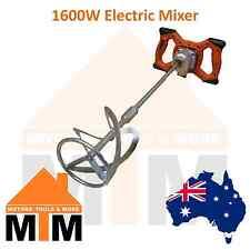 1600 Watt Mixer Mixing Drill Paint Glue Cement Tile Grout 1600W Tiler Plaster