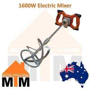 1600 Watt Mixer Paint Glue Cement Tile Grout Mortar 1600W Tiler Plaster Render