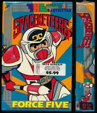 FHE Betamax NOT VHS Spaceketeers Force Five 1979 Anime Cult English Dub Animatio