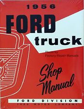 1956 Ford Pickup Truck F100 F250 F350 P350 B600 Bus Factory Shop Service Manual