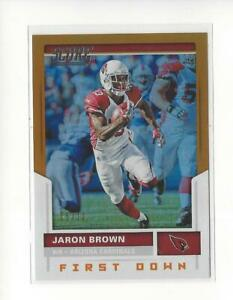 2017 Score First Down #76 Jaron Brown Rookie Cardinals 05/10