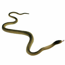 Soft Rubber Fake Snake Realistic Reptile Animal Toy 40cm For Children Kids (L99)
