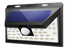 90 LED Solar PIR Motion Sensor Wall Light Outdoor Waterproof Garden Lamp