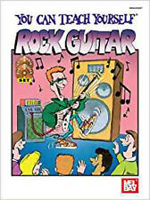 You Can Teach Yourself Rock Guitar, New, Bay, William Book