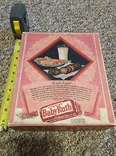 Old Baby Ruth Candy Bar Box Advertising Box Vintage 1929 Super Rare