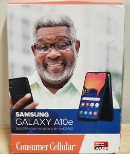Consumer Cellular Postpaid Samsung Galaxy A10e Black [Requires Own Sim]