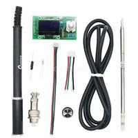 Digital T12 OLED Controller Soldering Iron Station w/ Aluminum Handle for HAKKO