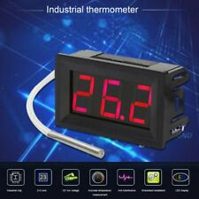 Digital Thermocouple Meter LED Display K-Type Industrial Thermometer Gauge XT