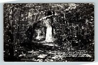 RPPC Lake of the Clouds, Porcupine Mountains Trail Real Photo Michigan Postcard