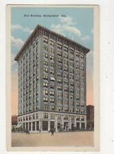 Bell Building Montgomery Ala USA Vintage Postcard 886a