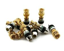Monster Cable Quicklock M500 BNC Connectors 10 Pack